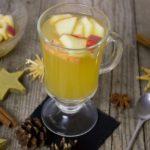 Heißer Apfelsaft mit Ingwer
